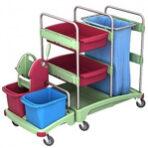 Antibakteriniai vežimėliai AssepticoSplast